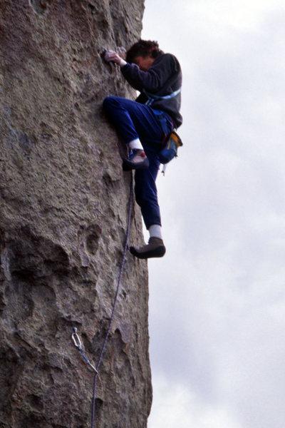 Rock Climbing Photo: City of Rocks - Scream Cheese