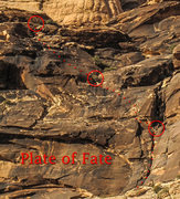 Rock Climbing Photo: Plate of Fate