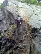 Rock Climbing Photo: Hearts Horizon, 5.10b, Safe Harbor, Lancaster Coun...