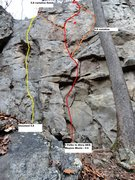 Rock Climbing Photo: Unnamed 5.8