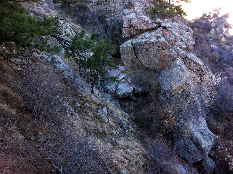 Rock Climbing Photo: Voodoo Lady Boulder.