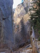 Rock Climbing Photo: One of the many slots in the Grand Staircase