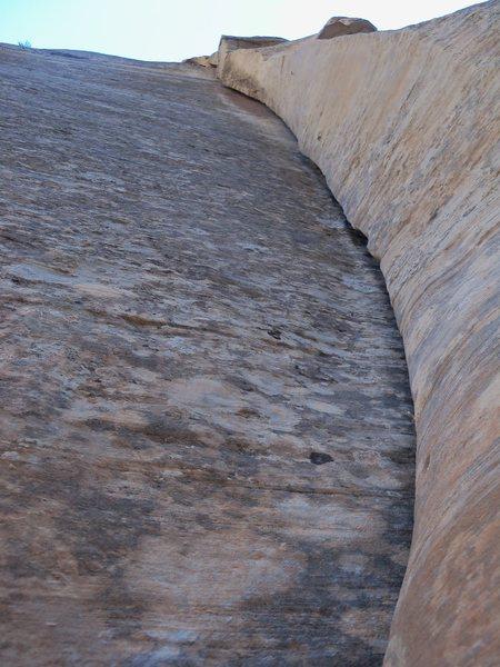 Rock Climbing Photo: A really fine line!