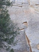 Rock Climbing Photo: The upper section may go with a second pitch!