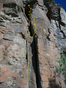 Rock Climbing Photo: Upper section of Axl Rose