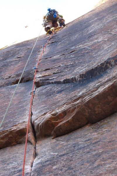 Leading the sweet 6th pitch of Prodigal Sun