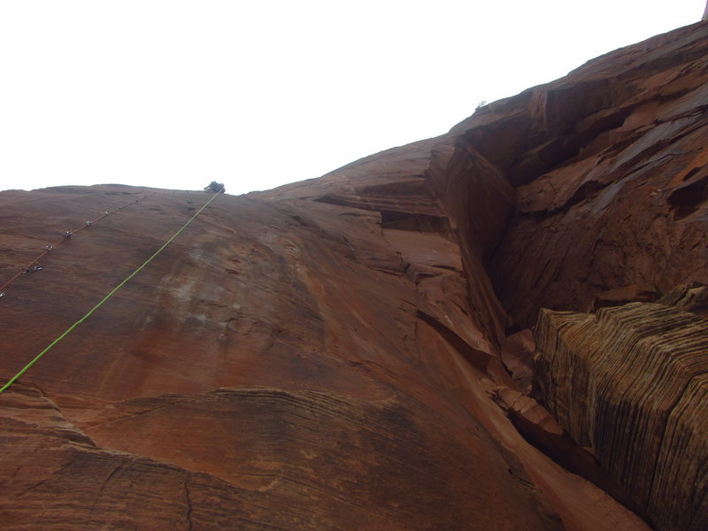Damian high on pitch 4 of SpaceShot