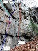 Rock Climbing Photo: The Furrowed Brow