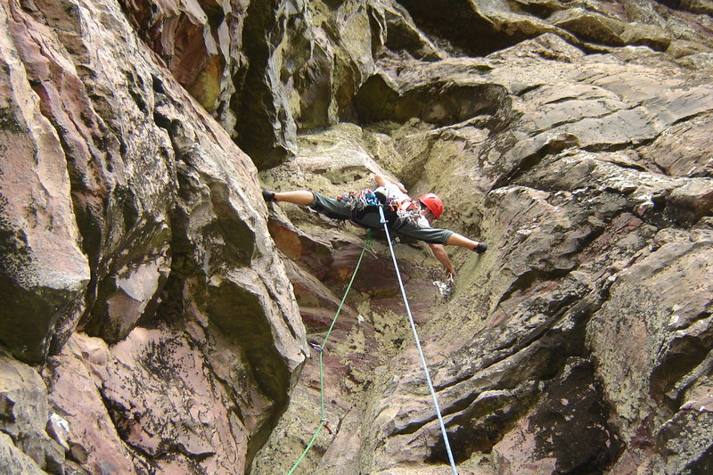 P3 - the crux pitch