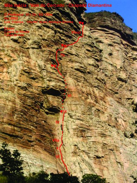 Rock Climbing Photo: O Professor