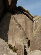 Rock Climbing Photo: Carnaval crack