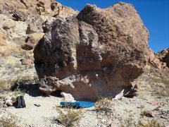 Rock Climbing Photo: The Spore boulder (?)