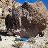 The Spore boulder (?)