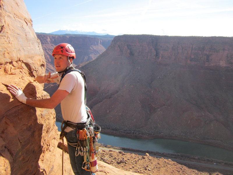 Rock Climbing Photo: taylor; on the job