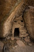 Rock Climbing Photo: Puebloean house at Range.