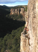 Rock Climbing Photo: A Shelf Road classic - Lime Street.