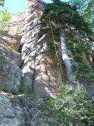 Rock Climbing Photo: Easy fun climbing!