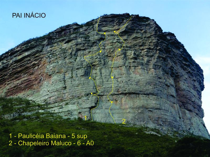 Rock Climbing Photo: Pai Inacio South east face