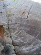 Rock Climbing Photo: VERY long route!
