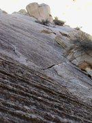 Rock Climbing Photo: Testing