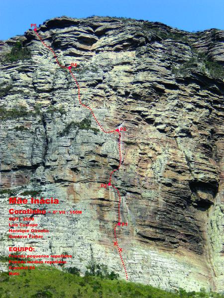 Rock Climbing Photo: Corotinho topo