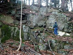Rock Climbing Photo: This is the section on the right.