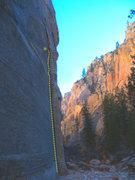 Rock Climbing Photo: Nice line