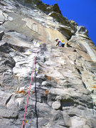Rock Climbing Photo: Top section for beta