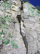 Rock Climbing Photo: Several rests are available on this moderate