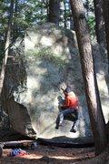 Rock Climbing Photo: Pawtuckaway, Bolt on top