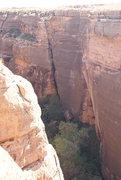 Rock Climbing Photo: Wide corner