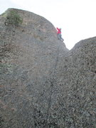 Rock Climbing Photo: noal on the route