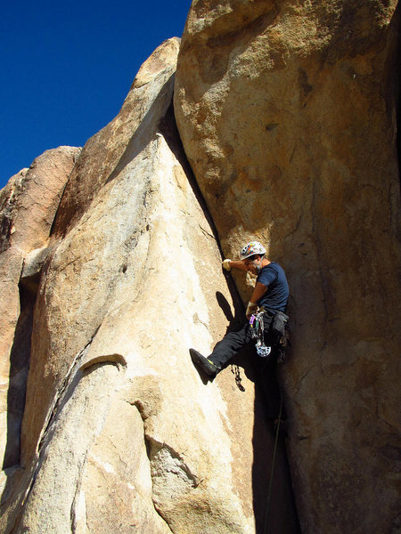 Rock Climbing Photo: Left Banana Crack
