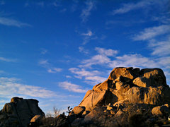 Rock Climbing Photo: The Old Woman - East Face