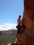 Rock Climbing Photo: CO National Monument Dewar Dihedral that route is ...