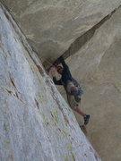 Rock Climbing Photo: Gram Traverse Hand Jam
