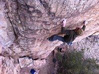 Rock Climbing Photo: Shelf Piggy Bank Some 12a.
