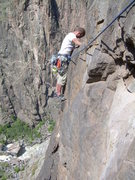 Rock Climbing Photo: Highway 61 Revisited traverse
