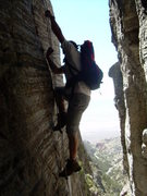 Rock Climbing Photo: Approaching the Book of Sat