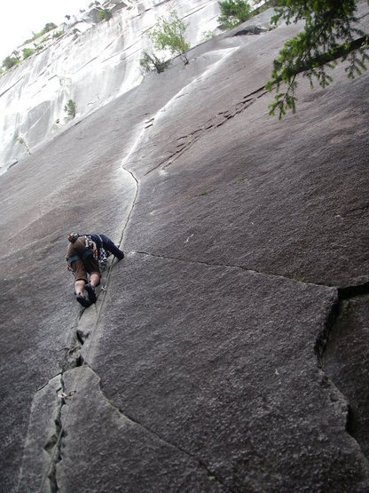 Rock Climbing Photo: Exasperator 10c Squamish BC
