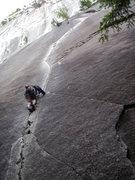 Rock Climbing Photo: Exasperator 10c Squamish BC