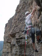 Rock Climbing Photo: Mudflap Girl p2