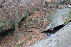 Rock Climbing Photo: Breakneck is known for its sport climbing, but als...