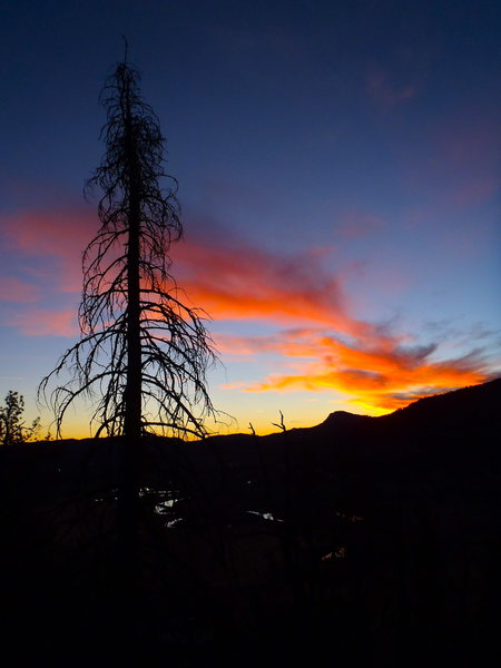 Rock Climbing Photo: Best sunset venue in Durango in my opinion....
