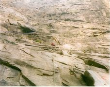 Rock Climbing Photo: This will help some in knowing how the route goes ...
