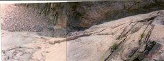 Rock Climbing Photo: The orange line is it.