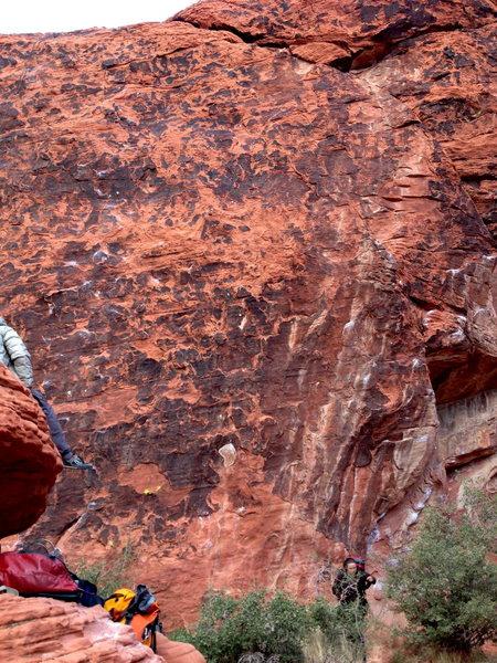 Rock Climbing Photo: Look Ma, no chalk!