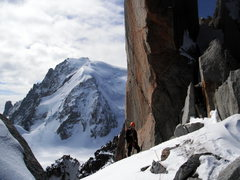 Rock Climbing Photo: Cosmique Arete, Aiguille du Midi  Sept. 2012