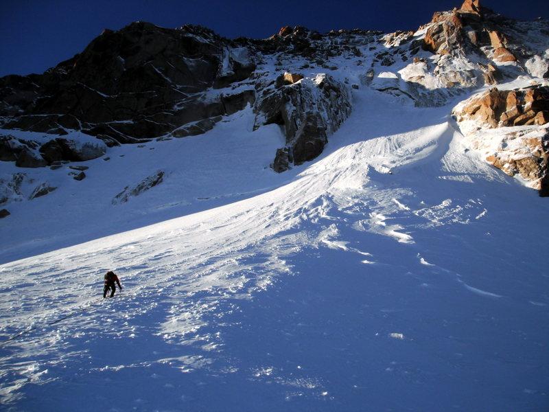 Contamine-Mazeaud, Mont Blanc du Tacul<br> <br> Sept. 2012