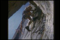Rock Climbing Photo: Steve Eddy, Dolt Hole, 1973